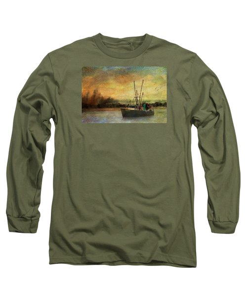 Heading Out Long Sleeve T-Shirt by John Rivera
