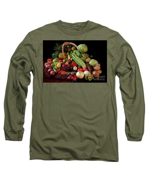 Healthy Basket Long Sleeve T-Shirt