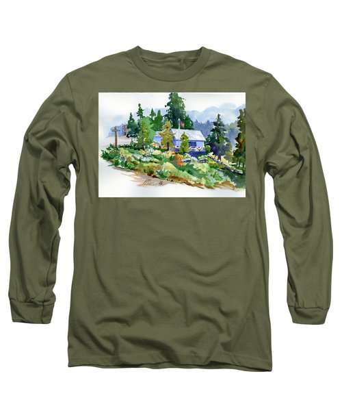 Hearse House Garden Long Sleeve T-Shirt