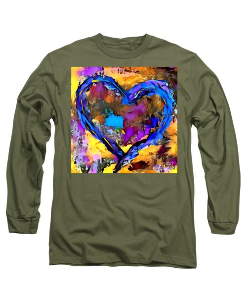 Heart No 7 Long Sleeve T-Shirt