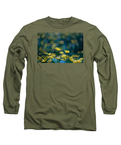 Long Sleeve T-Shirt featuring the photograph Heart Of Small Things by Rima Biswas