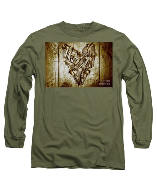 Heart Of The Kitchen Long Sleeve T-Shirt
