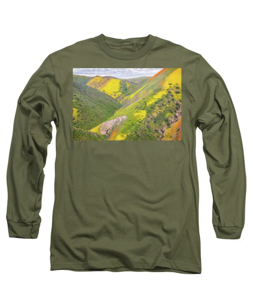 Long Sleeve T-Shirt featuring the photograph Heart Of The Temblor Range by Marc Crumpler