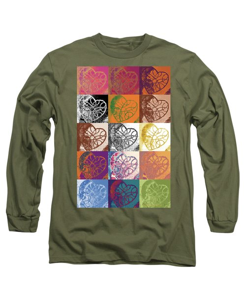 Heart To Heart Rendition 5x3 Equals 15 Long Sleeve T-Shirt
