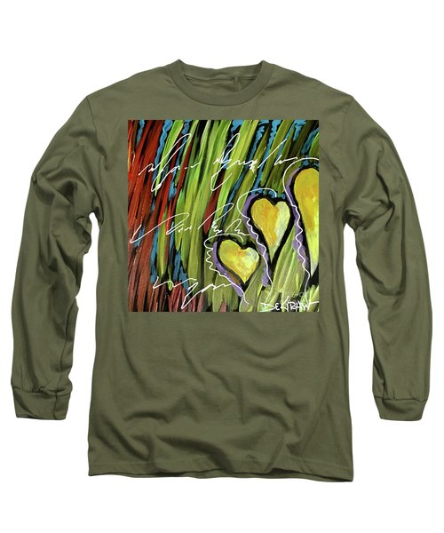 Hearts In The Grass Long Sleeve T-Shirt
