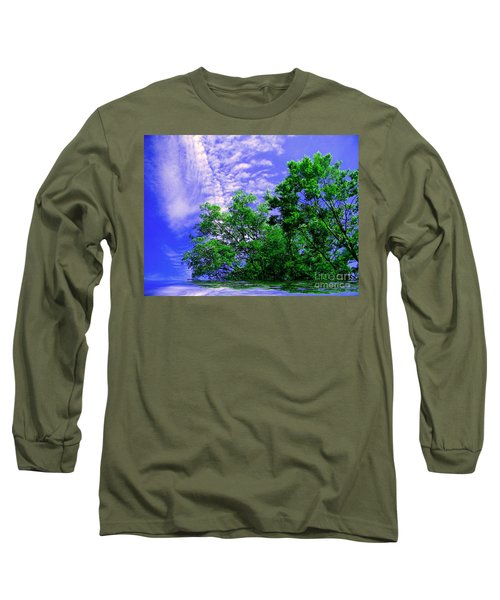 Long Sleeve T-Shirt featuring the photograph Heavenly by Elfriede Fulda