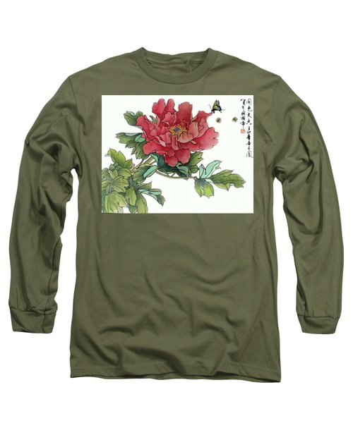 Long Sleeve T-Shirt featuring the photograph Heavenly Flower by Yufeng Wang