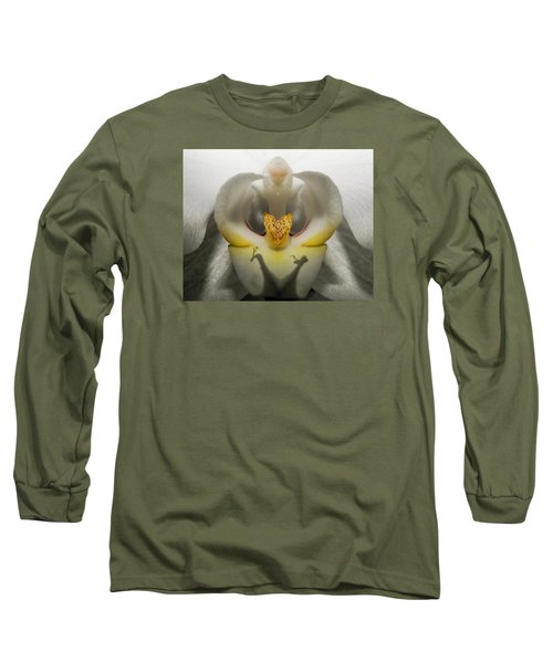 Heavenly Orchid Long Sleeve T-Shirt by Ernie Echols