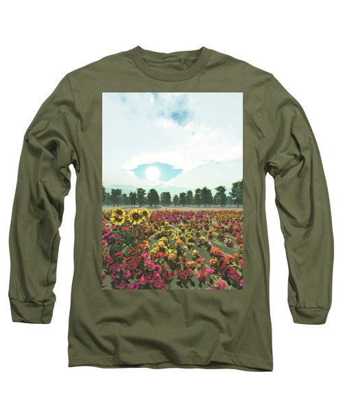 Heavens Eye Long Sleeve T-Shirt