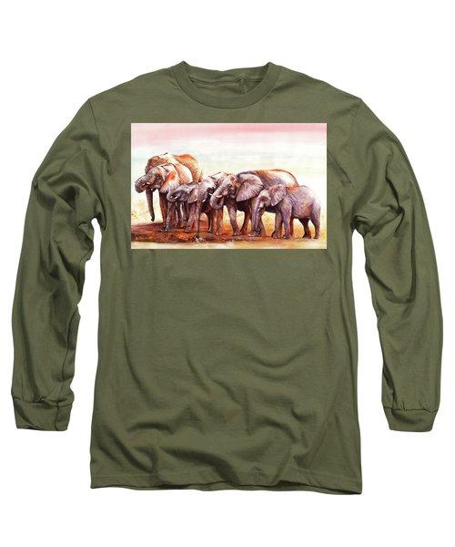 Heavy Drinkers Long Sleeve T-Shirt