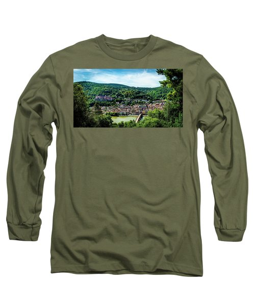 Long Sleeve T-Shirt featuring the photograph Heidelberg Germany by David Morefield