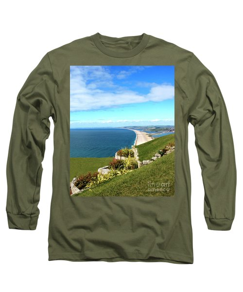 Heights Of Fortune Long Sleeve T-Shirt by Baggieoldboy