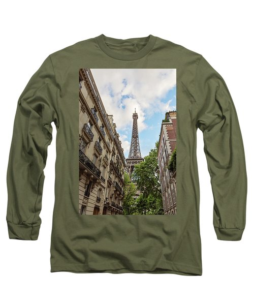 Hello, Paris Long Sleeve T-Shirt
