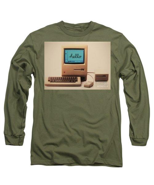 Hello Remember Me Long Sleeve T-Shirt