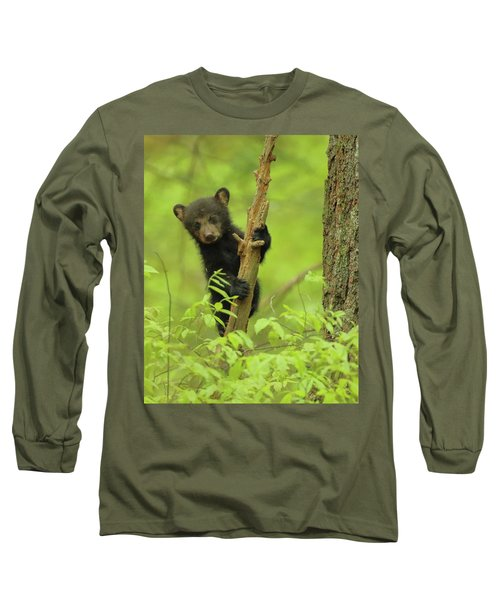 Long Sleeve T-Shirt featuring the photograph Hello There by Coby Cooper