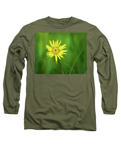 Long Sleeve T-Shirt featuring the photograph Hello Wild Yellow by Bill Pevlor