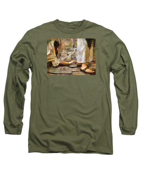 Hem Of His Garment Long Sleeve T-Shirt