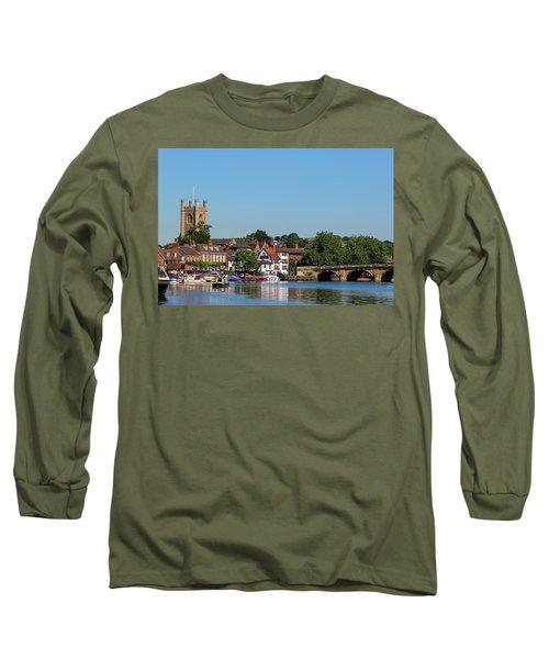 Henley On Thames Long Sleeve T-Shirt by Ken Brannen