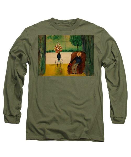 Henry Thoreau Long Sleeve T-Shirt