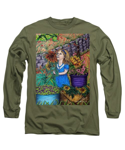 Her First Garden Long Sleeve T-Shirt