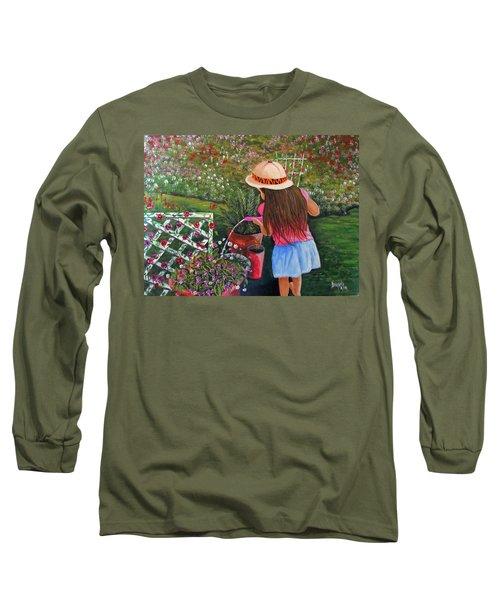 Her Secret Garden Long Sleeve T-Shirt