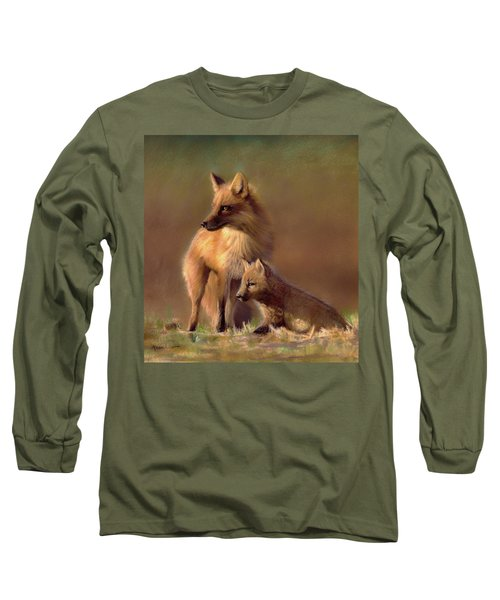Her Watchful Eye Long Sleeve T-Shirt