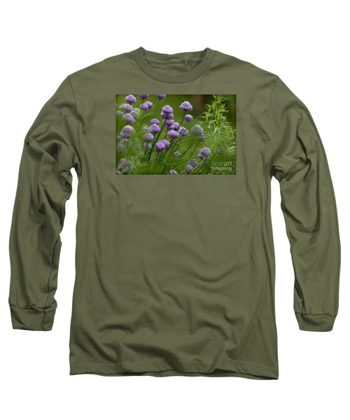 Herb Garden. Long Sleeve T-Shirt by Clare Bambers