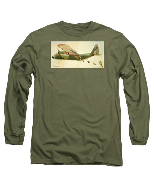 Hercules Paratroop Drop Long Sleeve T-Shirt