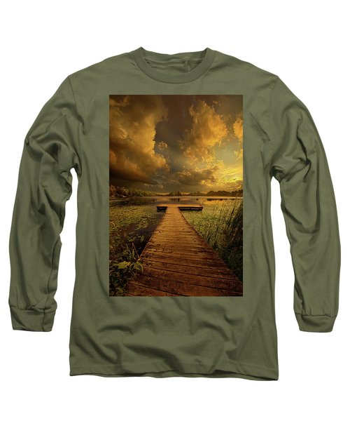 Long Sleeve T-Shirt featuring the photograph Here Nothing Else Matters by Phil Koch