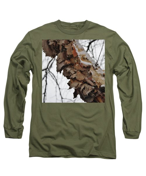 Heritage Birch Long Sleeve T-Shirt by Vadim Levin