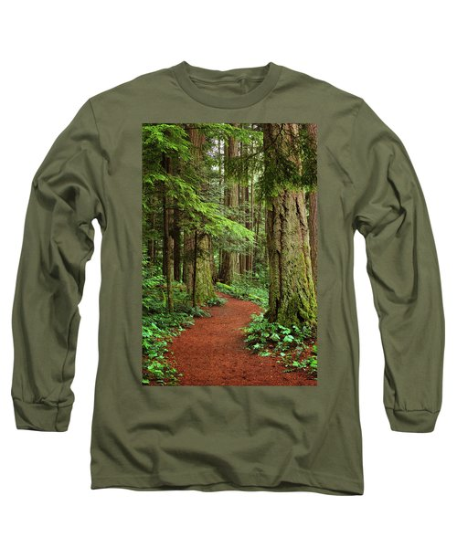 Heritage Forest 2 Long Sleeve T-Shirt by Randy Hall