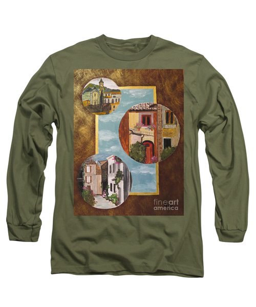 Long Sleeve T-Shirt featuring the painting Heritage by Judy Via-Wolff