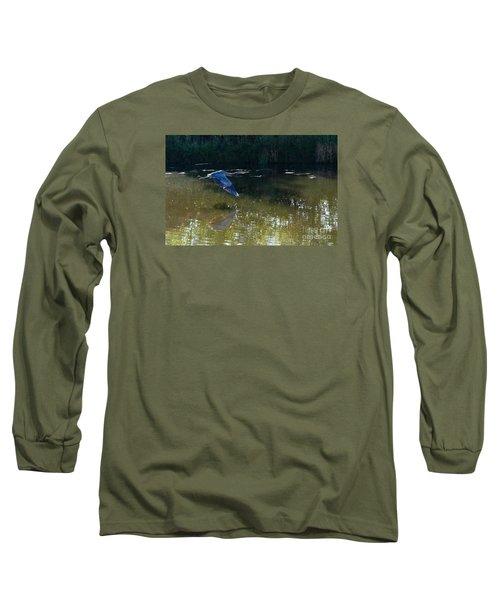 Heron Flight Long Sleeve T-Shirt