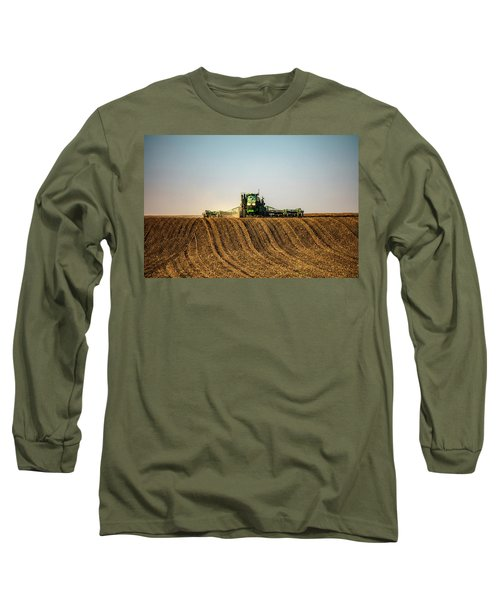 Herringbone Sowing Long Sleeve T-Shirt