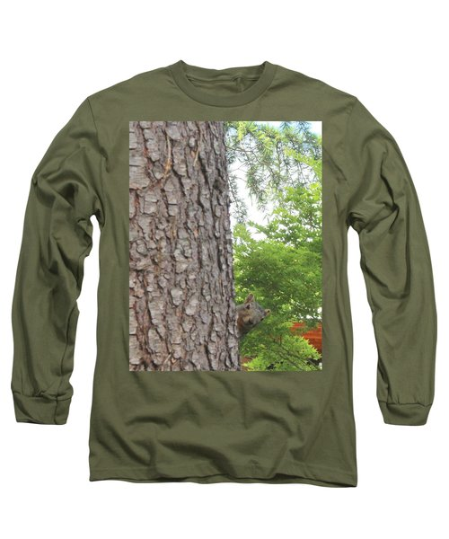 Long Sleeve T-Shirt featuring the photograph Hey Down Here by Marie Neder