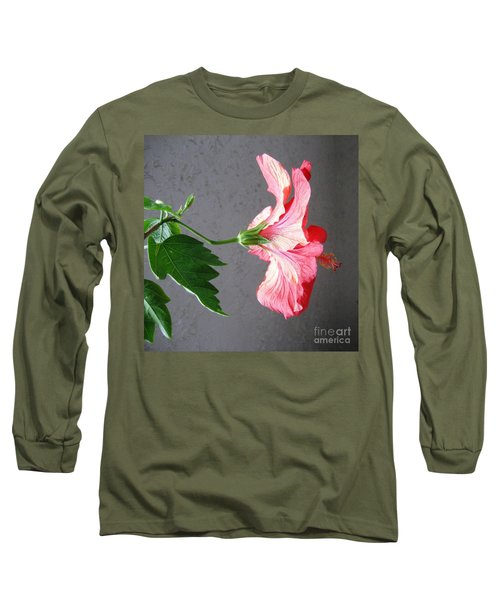 Hibiscus #4 Long Sleeve T-Shirt