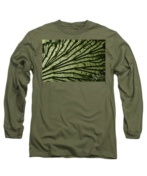 Hibiscus Tiliaceus Variegata Long Sleeve T-Shirt