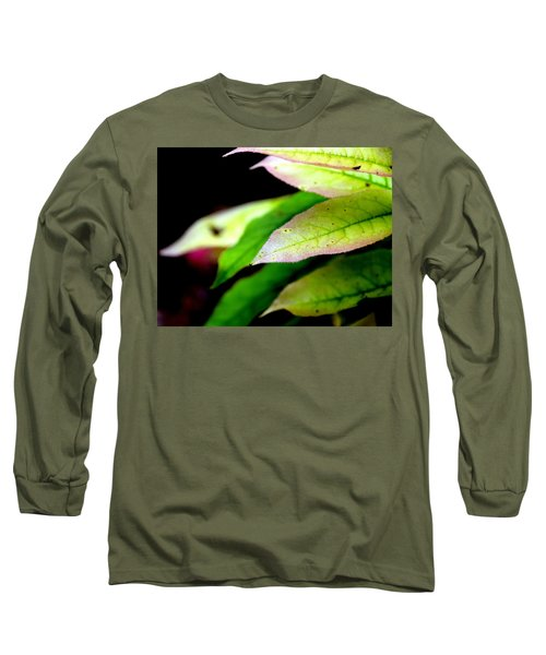 Hickory Leaf Long Sleeve T-Shirt