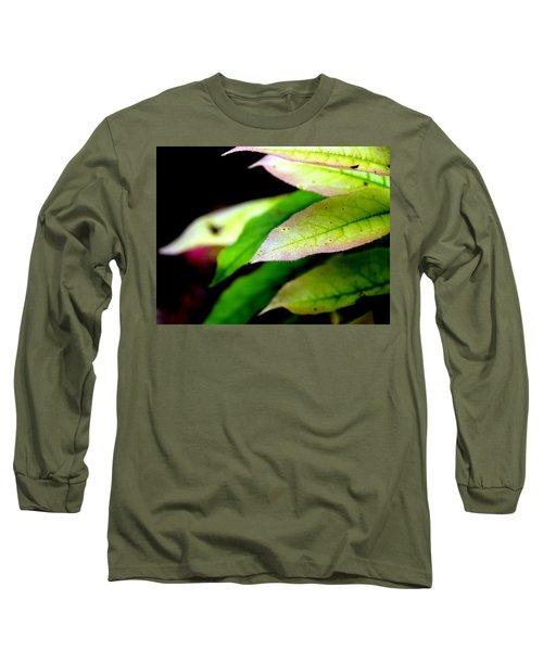 Hickory Leaf Long Sleeve T-Shirt