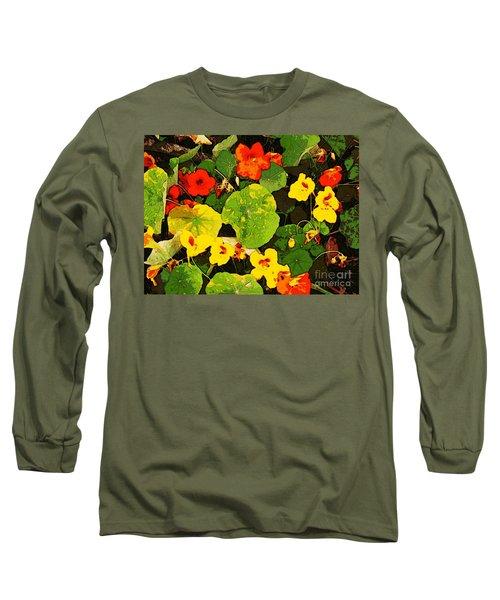 Hidden Gems Long Sleeve T-Shirt by Winsome Gunning