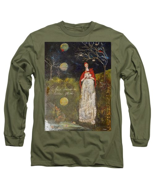 Hidden Places Long Sleeve T-Shirt by Sharon Furner