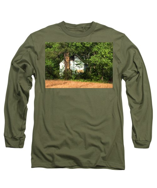 Long Sleeve T-Shirt featuring the photograph Hide And Seek by Kathleen Scanlan