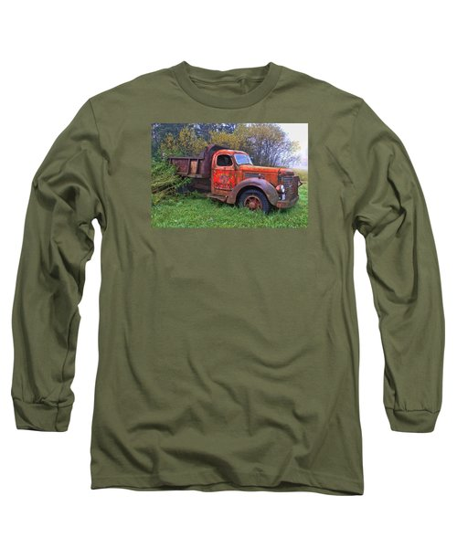 Long Sleeve T-Shirt featuring the photograph Hiding In The Bushes by Susan Crossman Buscho