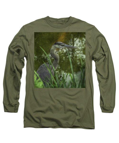 Hiding In The Grass Long Sleeve T-Shirt