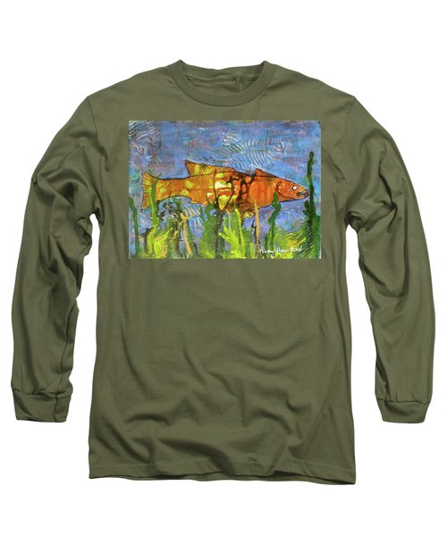 Hiding Out Long Sleeve T-Shirt by Terry Honstead