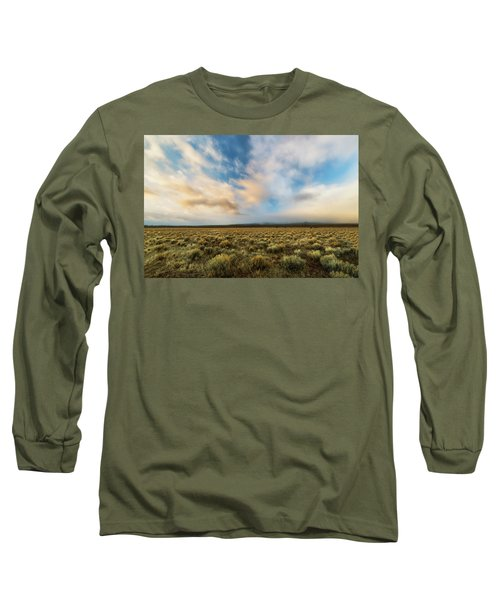Long Sleeve T-Shirt featuring the photograph High Desert Morning by Ryan Manuel