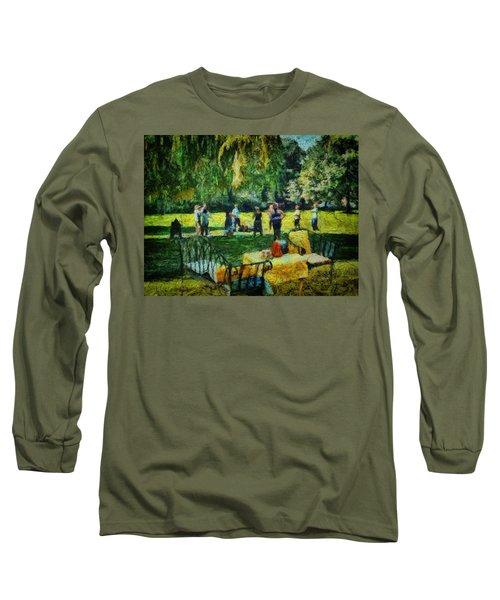 High Tea Tai Chi Long Sleeve T-Shirt