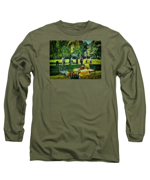 High Tea Tai Chi Long Sleeve T-Shirt
