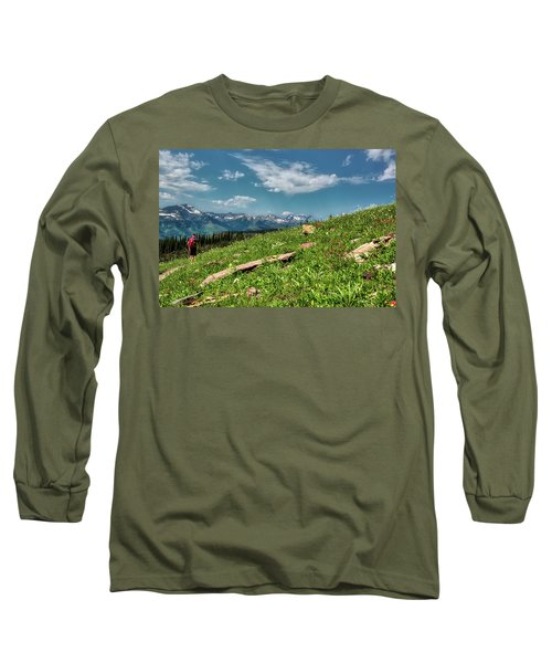 Highline Trail Adventure Long Sleeve T-Shirt