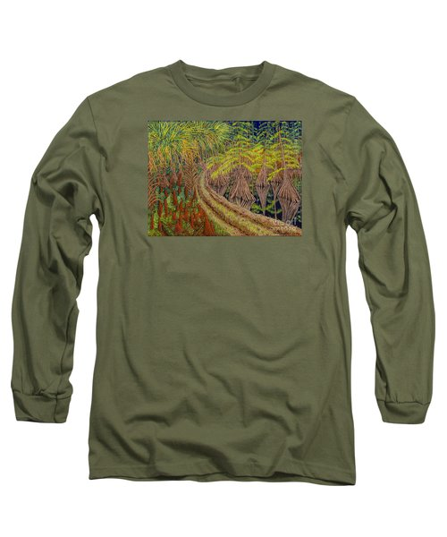 Highway 70 East Circa 1905 Long Sleeve T-Shirt